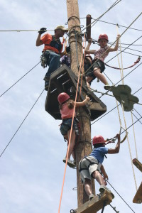 High Ropes Course & Pool
