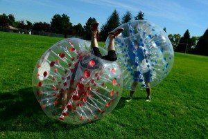 Carden Academy - Bubble Soccer